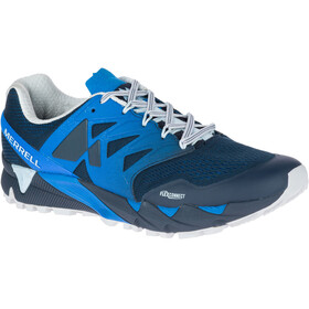 Merrell Agility Peak Flex 2 E-Mesh Shoes Men Directoire Blue